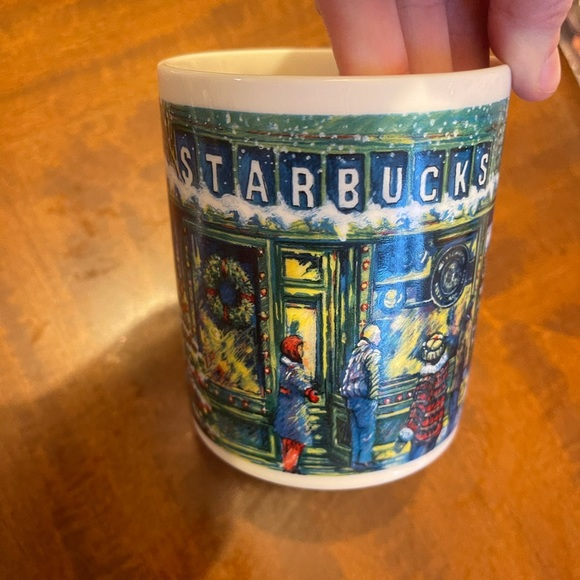 Starbucks Christmas pike place market coffee cup